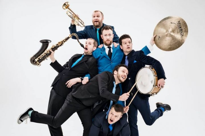Musical comedy troupe The Horne Section