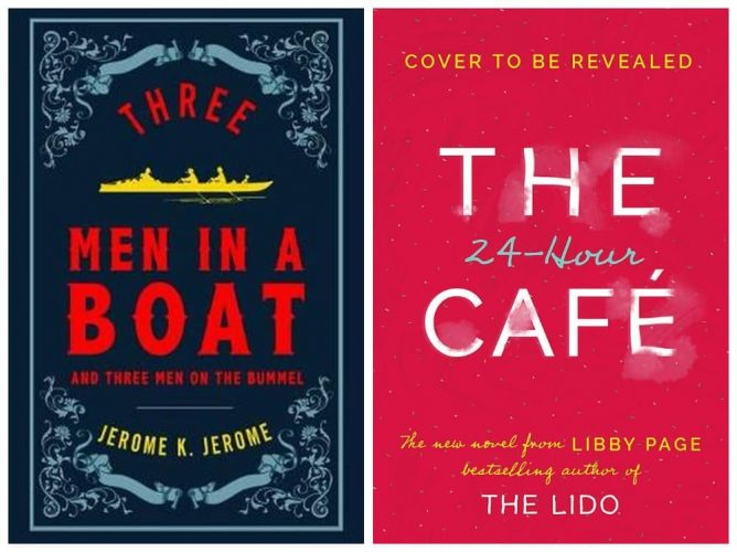 Three men in a boat and The 24hr cafe
