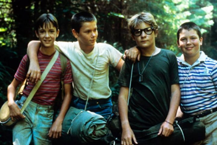 Stand BY Me FOUR BOYS WEARING T SHORTS