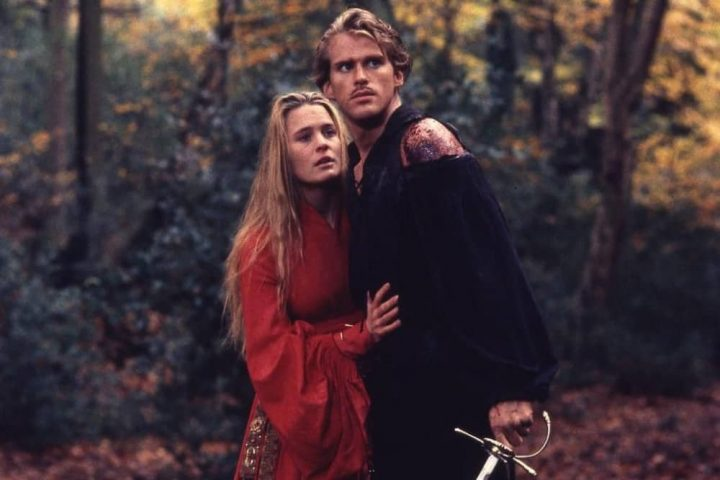 The-Princess-Bride man and woman in woods