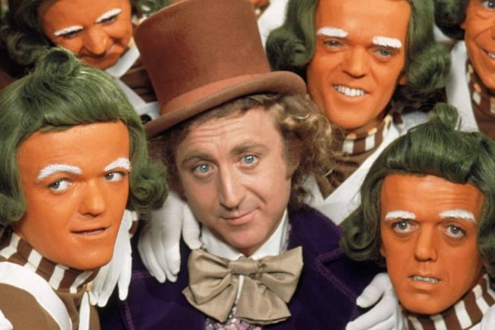 Willy-Wonka-and-the-Chocolate-Factory Gene Wilder and oompa lumpas