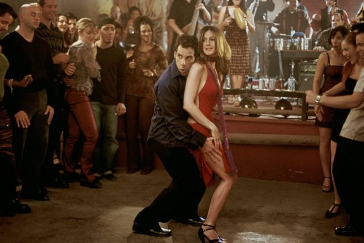 Along Came Polly ben stiller and Jennifer Aniston salsa dancing