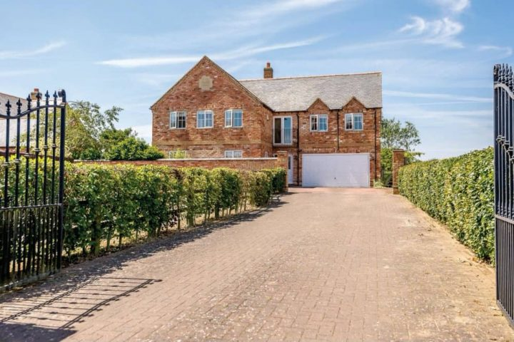 New build six bedroom house 9 acres of land and equestrian facilities rutland