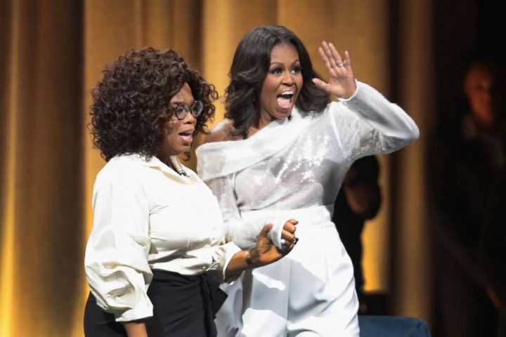 Michelle Obama and Oprah Winfrey Becoming documentary Netflix