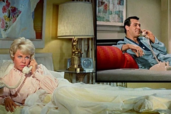 Doris Day and Rock Hudson Pillow Talk