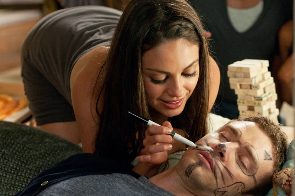 Friends with benefits Mila Kunis and Juston Timberlake
