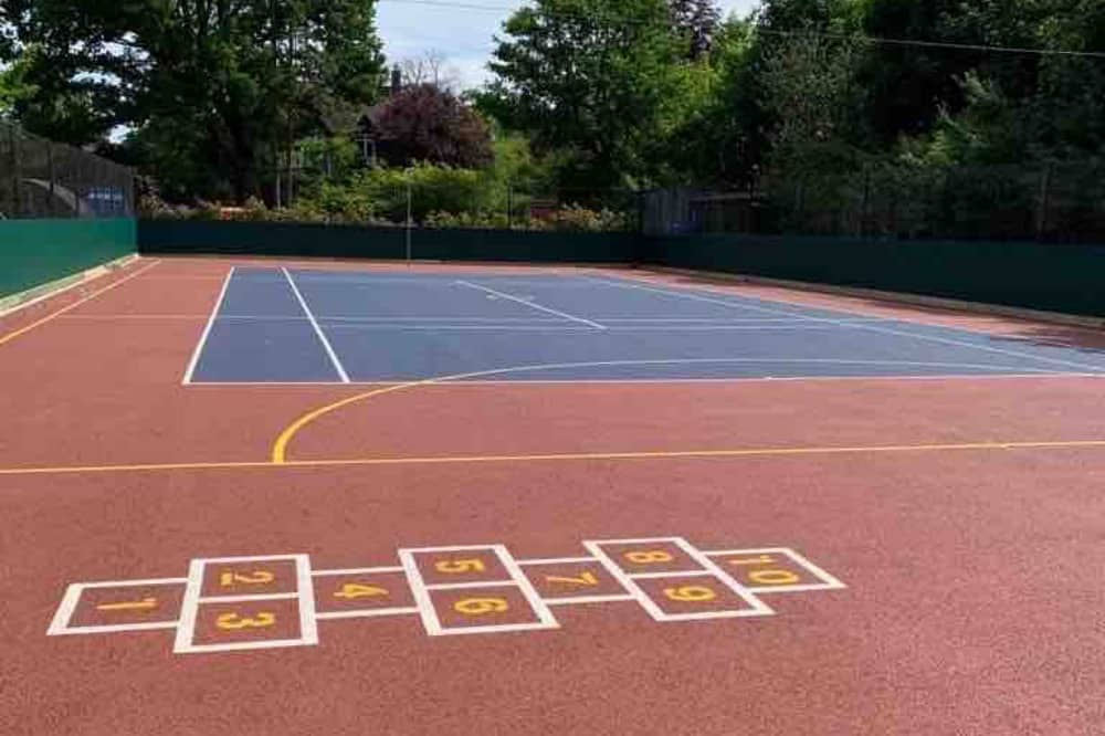 Eton End Courts for netball and tennis