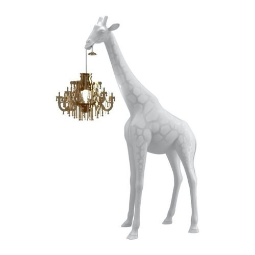 XL giraffe chandelier