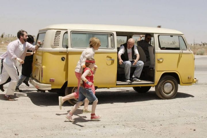 Little Miss Sunshine family and campervan