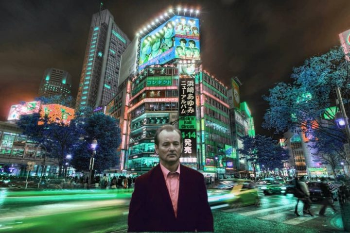 Nill Murray Lost in Translation Shinjuku Japan