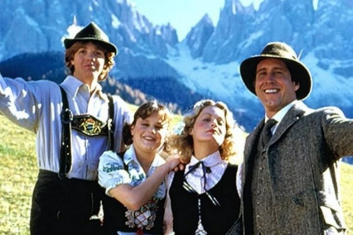 National Lampooons European Vacation homaage to the Sound of Music