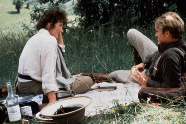 Meryl Streep Robert Redford in Out Of Africa
