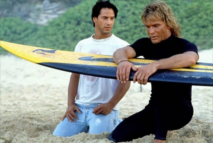 Point Break Keanu reeves and patrick swayze 20th cdntury fox