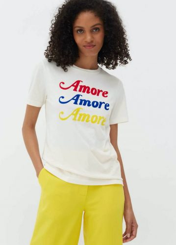 Chinti & Parker Amore rainbow T short £48 frfom £120