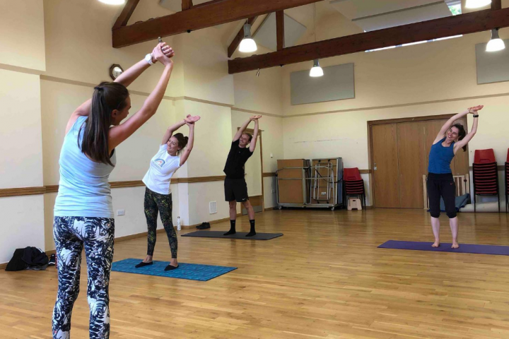 Flex.Pilates class Christchurch Centre Henley Muddy Berkshire review