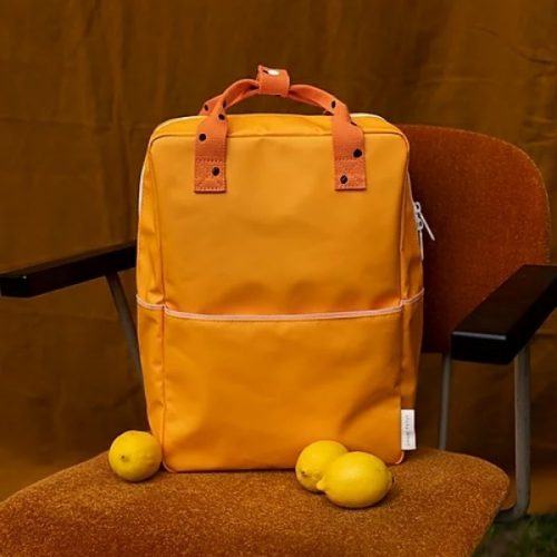 B the lifestyle shop orange backpack