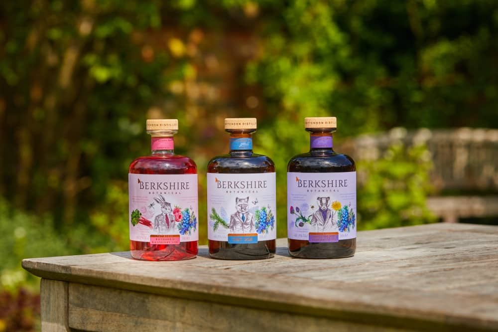 Berkshire Botanical award winning gins