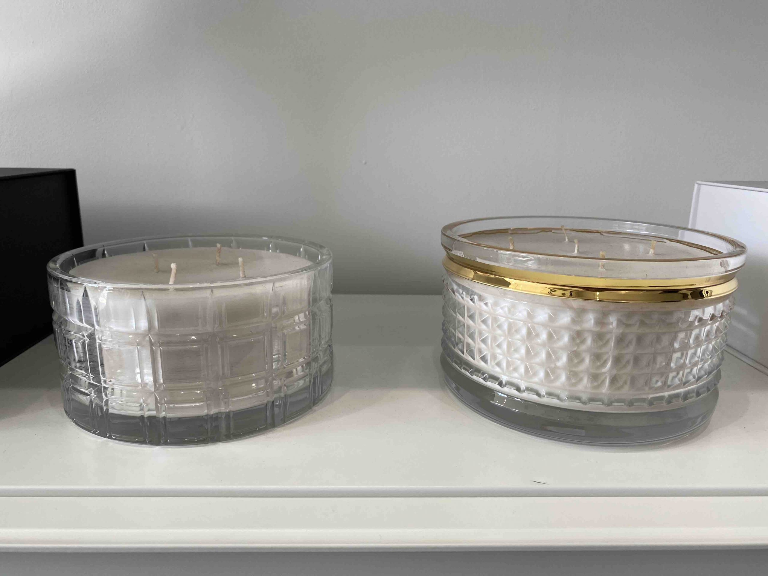 Humos Waterford Crystal candles