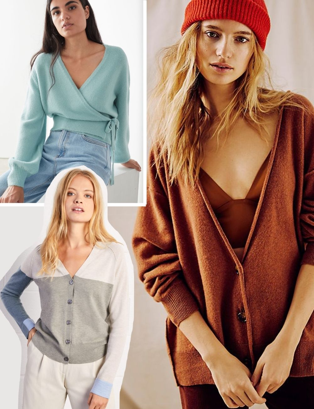 AW20 cardigan trends