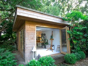 She Shed artist's studio