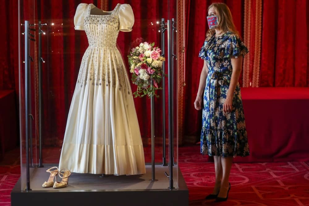 princess-beatrice-WEDDING GOWN ON display