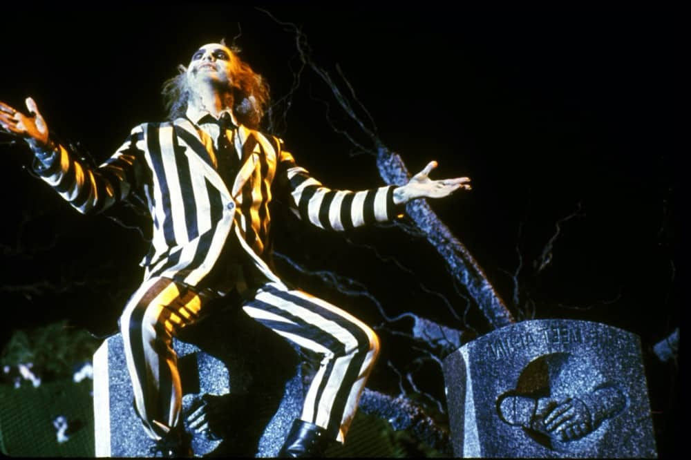 Beetlejuice stripy suit