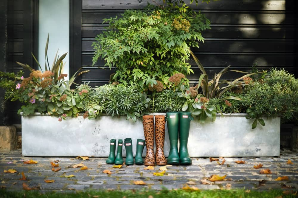 Coworth Park-Autumn lifestyle-family Hunter wellies