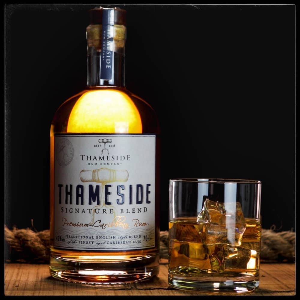 Thameside Rum and glass