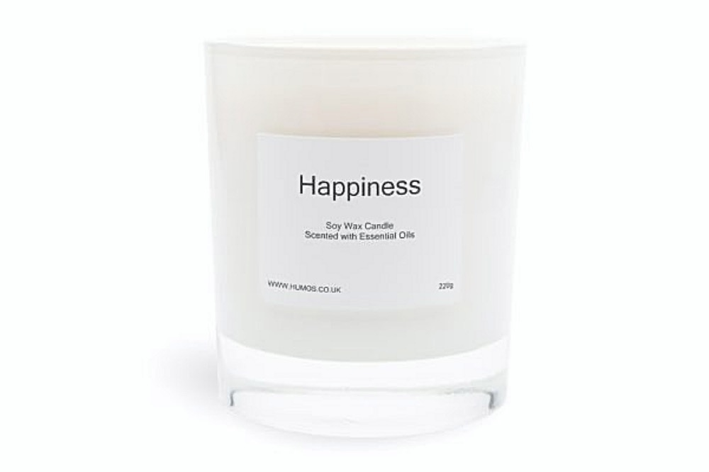 HUMOS happiness aromatherapy candle