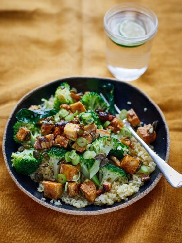 Brocolli and Tofu Bowl WHAT VEGAN'S EAT COOKBOOK