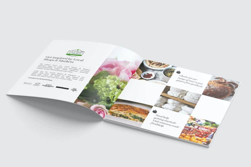 YESSICA DIEZ CREATive Square brochure mock up