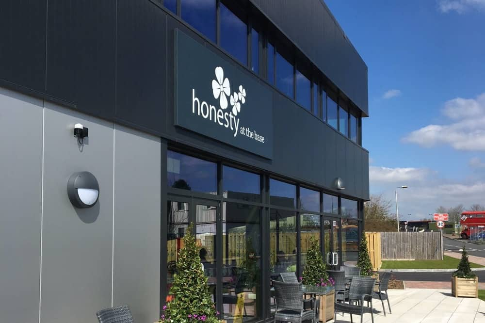 Honesty cafe The Base Green ham Common Newbury