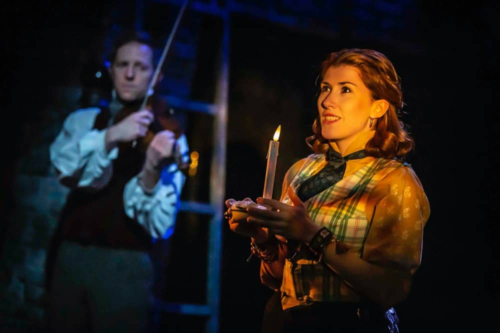 A Christmas Carol_Watermill_Pete Ashmore and Tilly-Mae Milbrook_Pamela Raith Photography