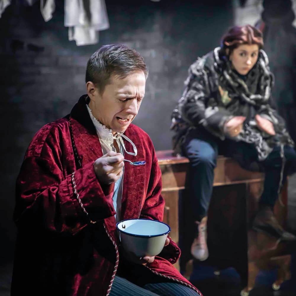 A Christmas Carol__Watermill_Pete Ashmore and Tilly-Mae Milbrook_Pamela Raith Photography