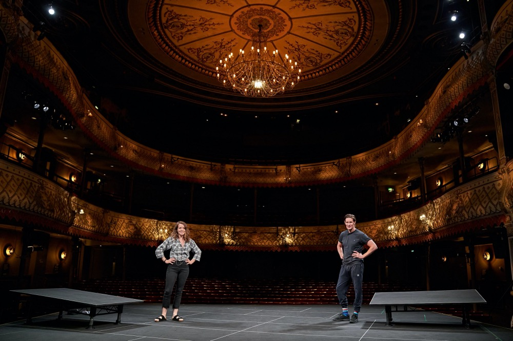 Lung Old Vic In Camera Clare Foy and Matt Smith
