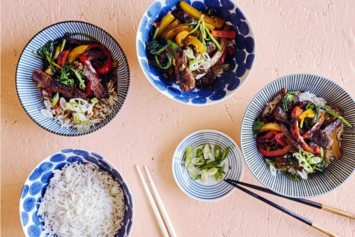 Korean BBq bowl food recipe under 500 cals