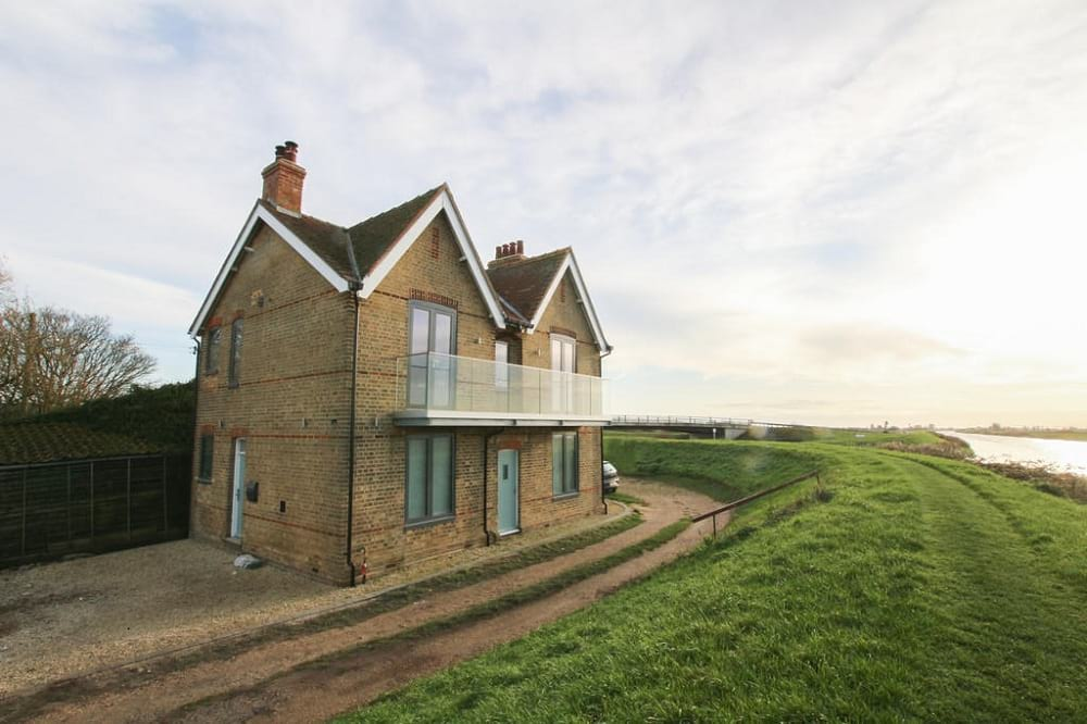 Suffolk riverside renovation