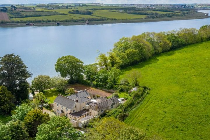Devon riverside home