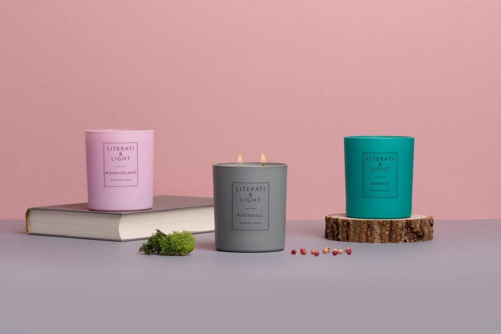 Literati & Light candle subscription inspired by books