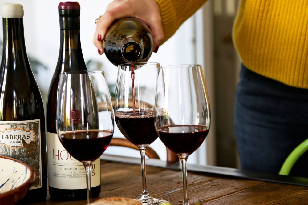 Graoe and Nectar wine