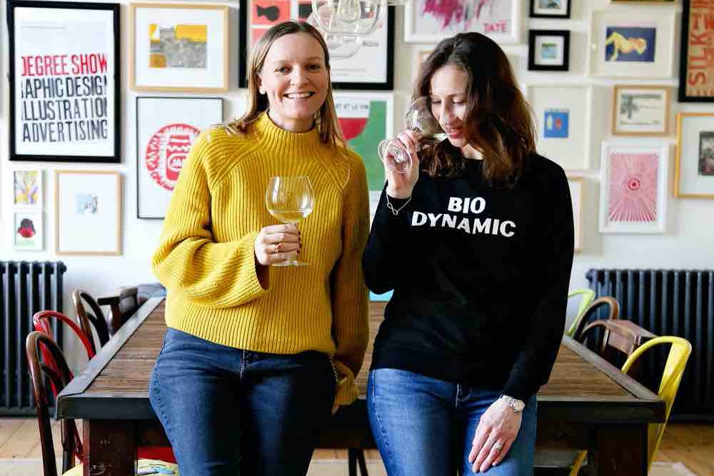 Grape and Nectar wine subscription Katherine and Fiona