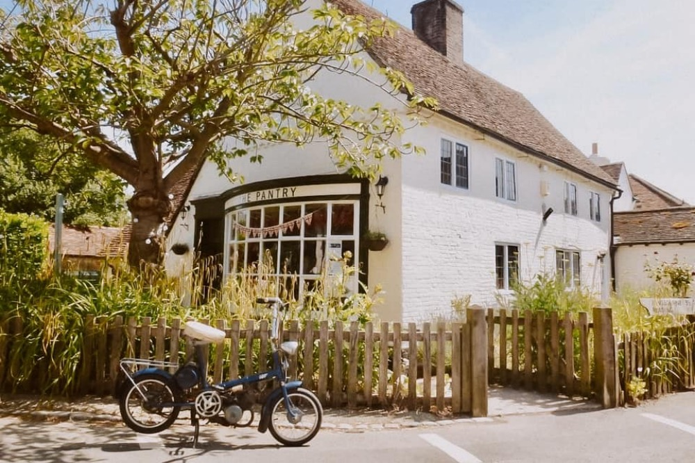 The Pantry Yattendon cafe