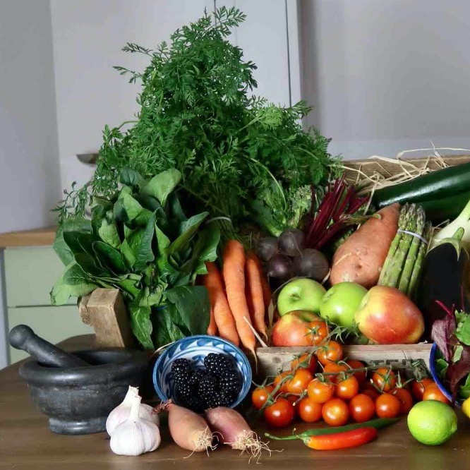 CA Belcher and Son fruit and veg box