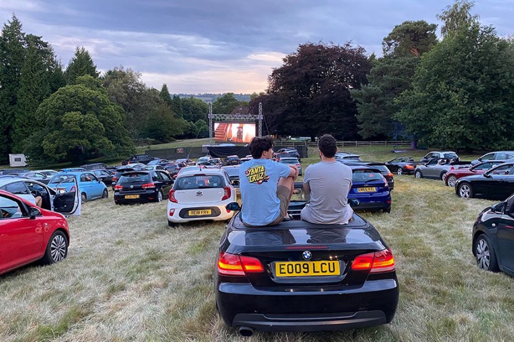 Flix Drive in Sit out Cinema