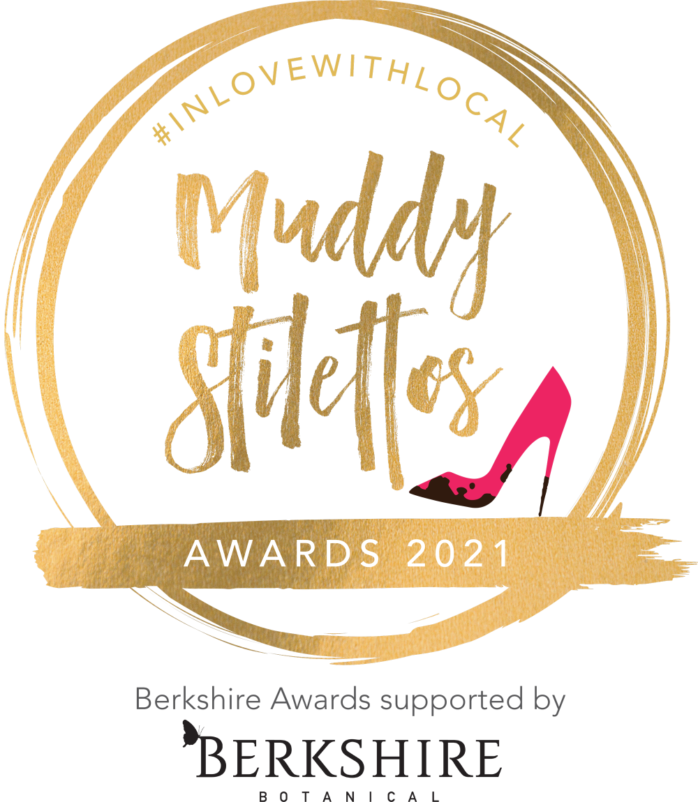 MUDDY AWARDS 2021 LOGO SUPPORTED BY BERKSHIRE BOTANICAL GIN