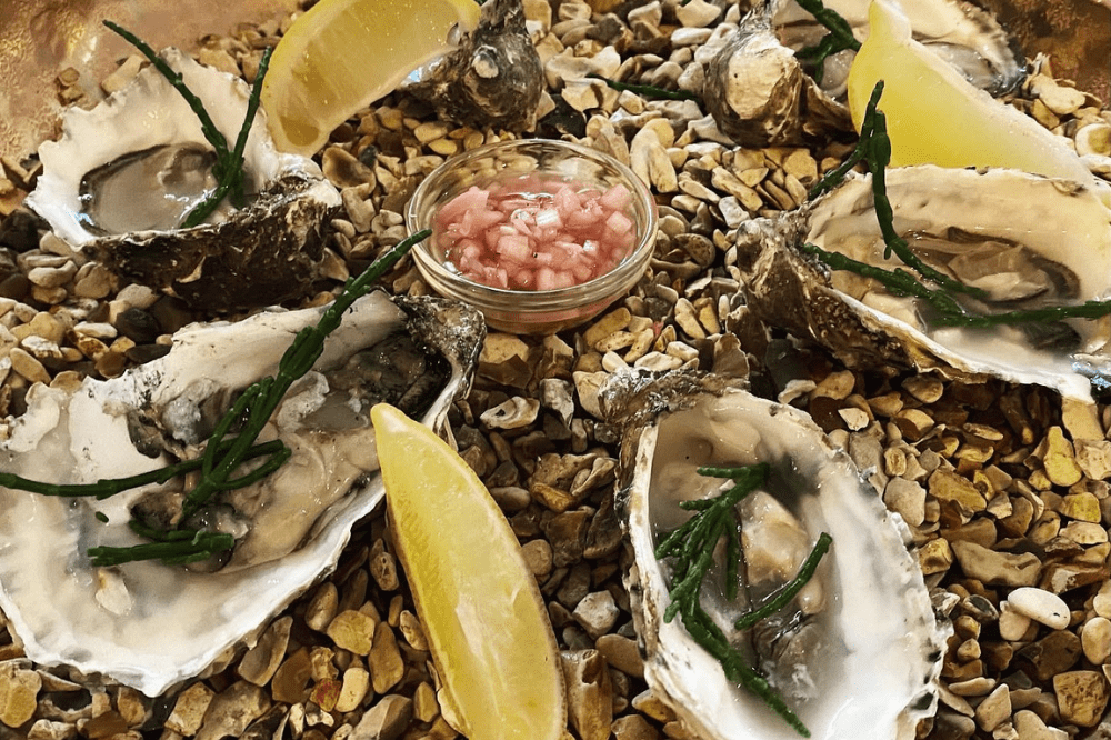 The Greyhound Finchampstead oysters