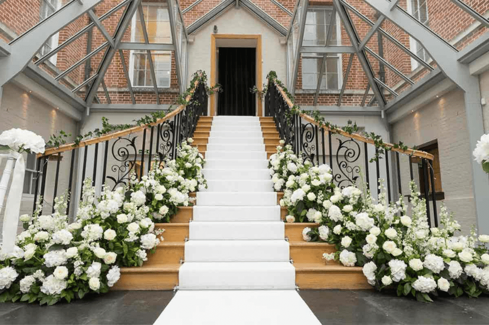 Sonning Flowers floral staircase